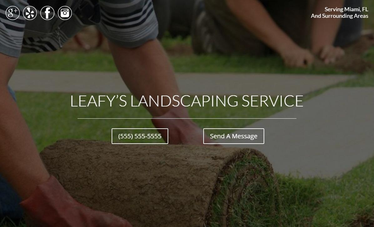 Landscaping Demo